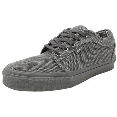 529ac960d701dc Vans - Vans Men s Chukka Low Distressed Textile Smokeout Canvas  Skateboarding Shoe - 13M - Walmart.com