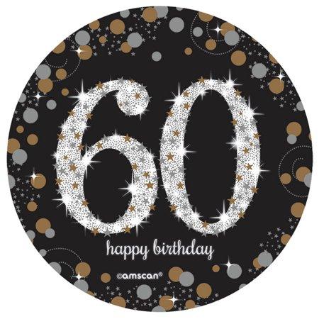 - Sparkling Celebration 60th Birthday Spray Centerpiece (1)