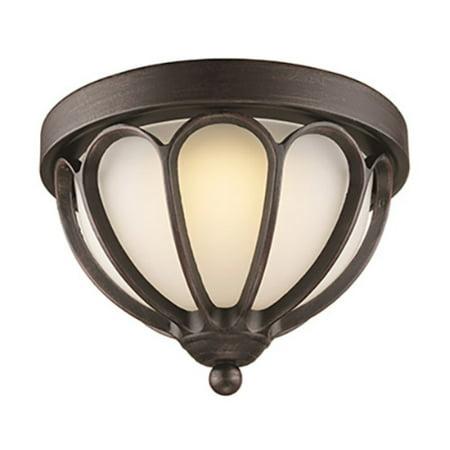 Trans Globe Lighting Mirage Led 4092 Outdoor Flush Mount Light Lantern