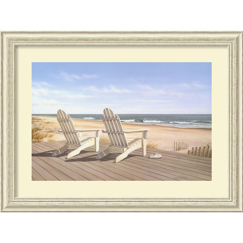 Amanti Art 'Point East' by Daniel Pollera Frame Photographic Print