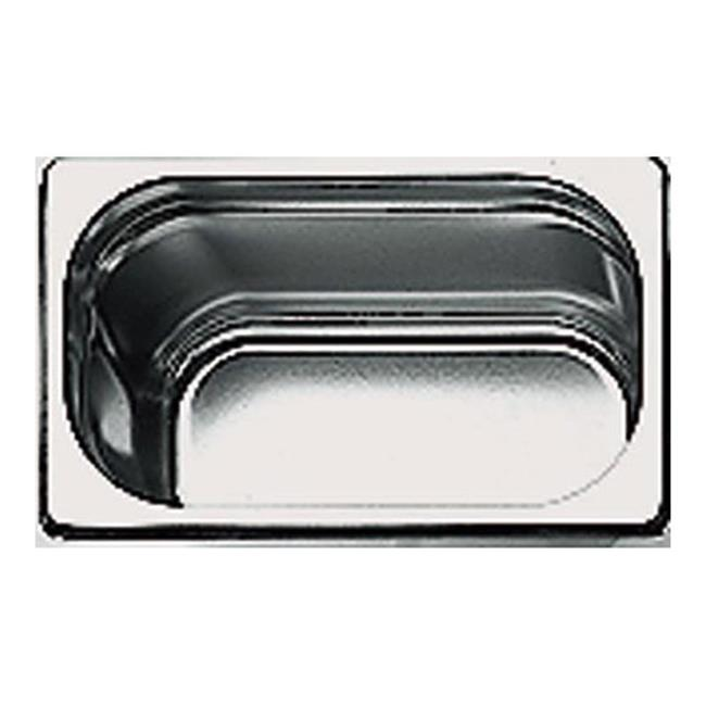 Paderno World Cuisine 14148-15 Hotel Pan S/S  1/4 Intn Hdles, L10 1/2XW6 1/4X H6,5 1/4QTS