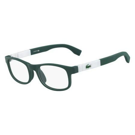 4aa48206f5b Eyeglasses LACOSTE L 3627 315 MATTE GREEN - Walmart.com