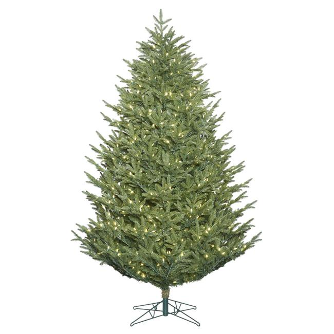 Deluxe Frasier Christmas Tree with Warm White LED Lights, 4.5 ft. x 45 in. - image 1 of 1