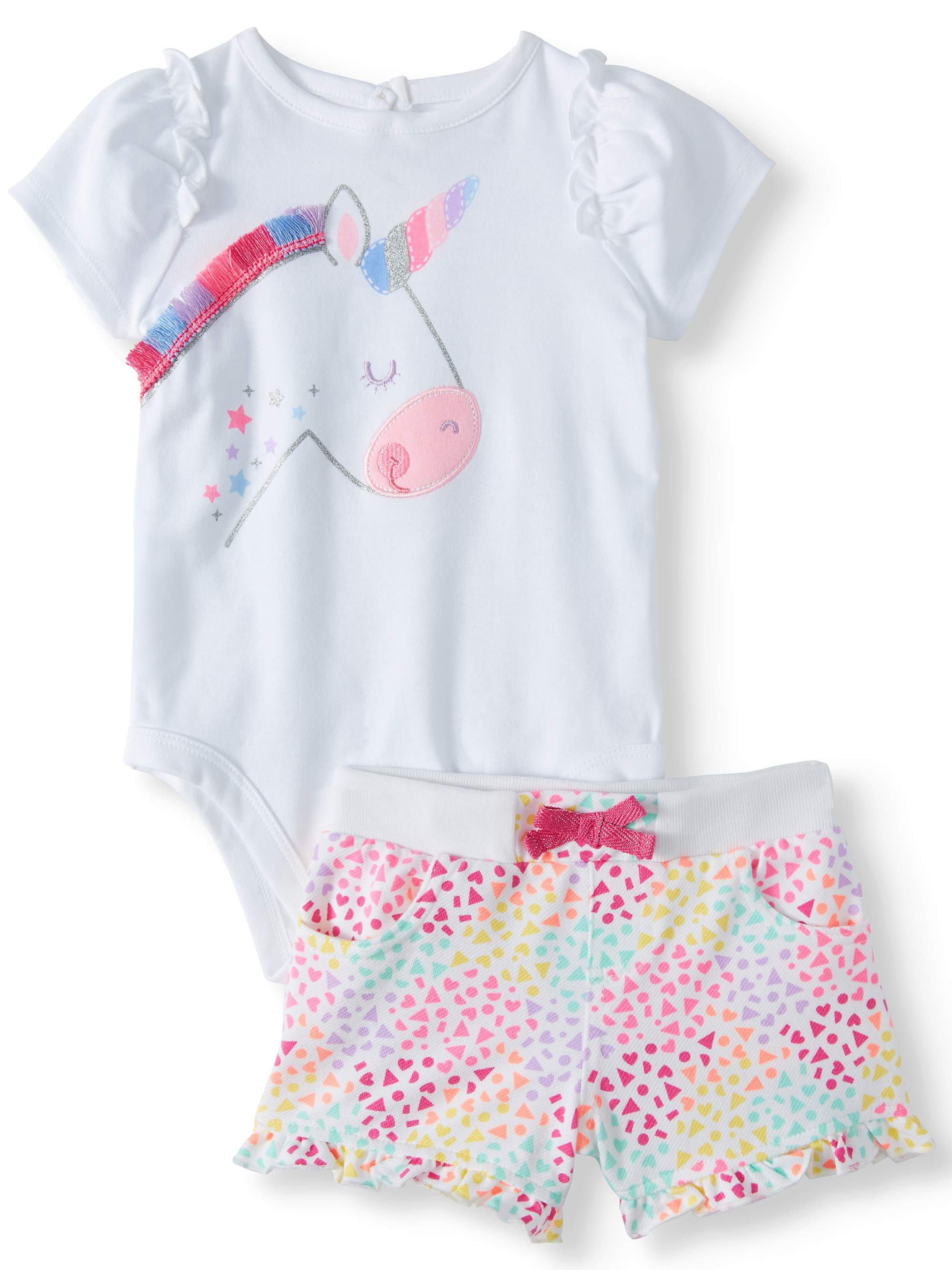 Girls' Clothing (newborn-5t) Useful Garanimals Owl Bodysuit 6-9m Baby & Toddler Clothing
