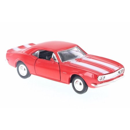 1967 Chevy Camaro, Red w/ White stripes - Sunnyside SS5731DB - 1/32 Scale Diecast Model Toy Car (Brand New but NO BOX)