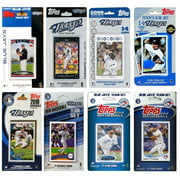 CandICollectables JAYS813TS MLB Toronto Blue Jays 8 Different Licensed Trading Card Team Sets