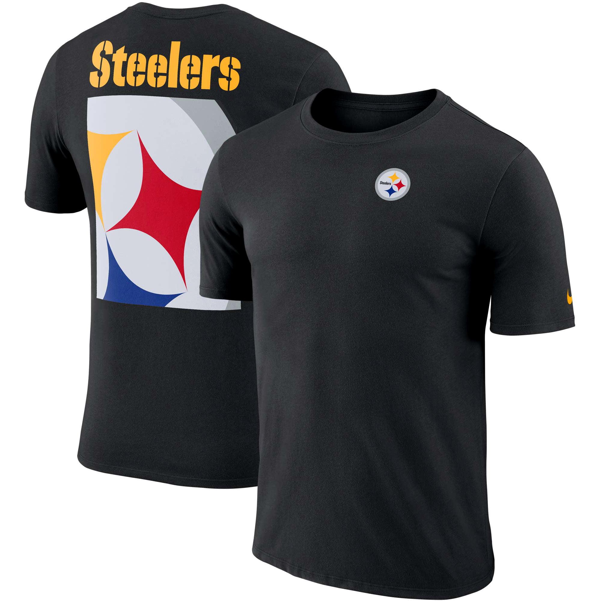 Pittsburgh Steelers Nike Performance Crew Champ T-Shirt - Black