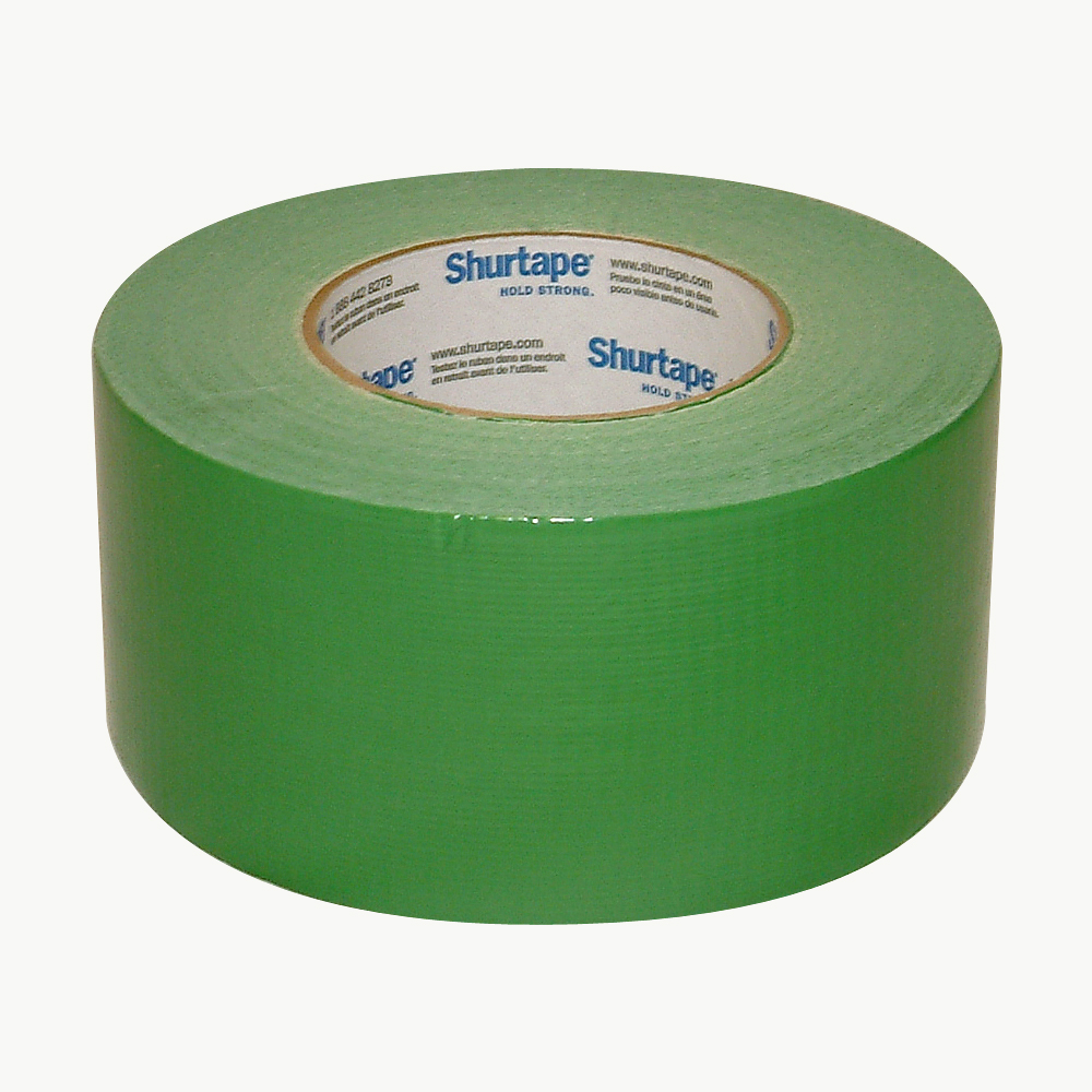 Shurtape PC-600 General Purpose Grade Duct Tape: 3 in. x 60 yds. (Green)