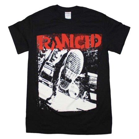 - Rancid Boot T-Shirt Large