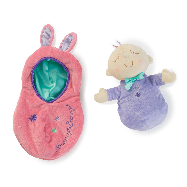 Manhattan Toy Snuggle Pods Hunny Bunny Baby Doll