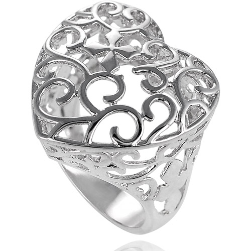 Brinley Co. Sterling Silver Filigree Ring