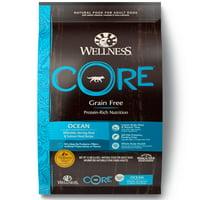 Wellness Core Natural Grain Free Dry Dog Food, Ocean Whitefish, Herring & Salmon