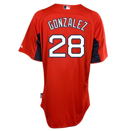 Adrian Gonzalez Boston Red Sox Majestic Authentic Cool Base On Field BP Jersey by