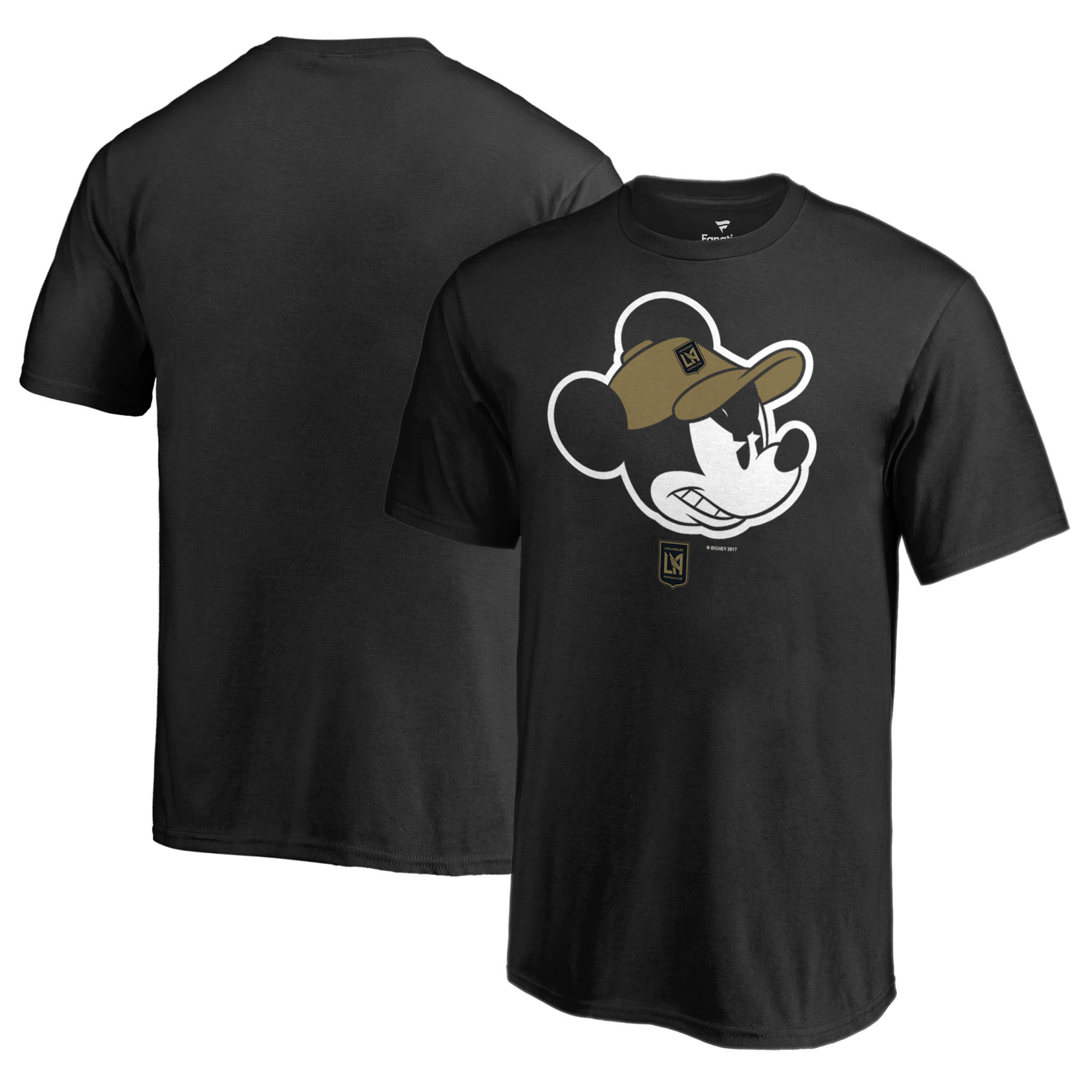LAFC Fanatics Branded Youth Disney Game Face T-Shirt - Black