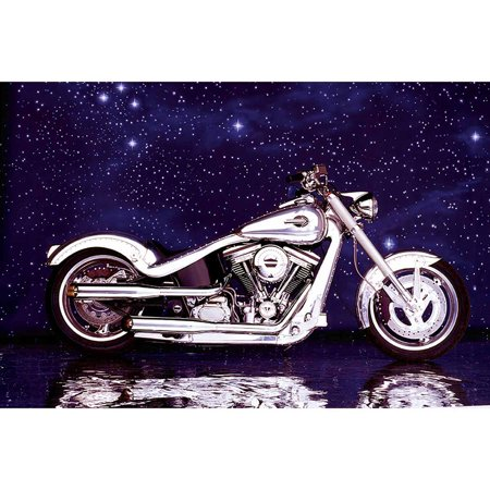Motorcycle Big Twin Softail Photography Art
