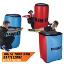 3 Pk BUNKR Build Your Own Battlezone Inflatable Red Vs. Blue