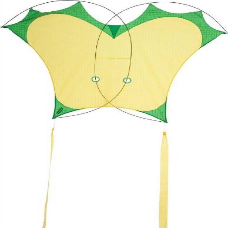 HQ Beach and Fun Sport Kite (Sky Photon Yellow Green) by