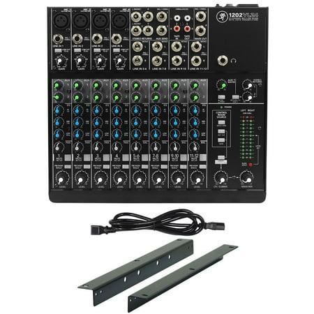 - Mackie 1202VLZ4 12-channel Pro Mixer w/ 4 ONYX Preamps+RM1202-VLZ Rack Mount Kit