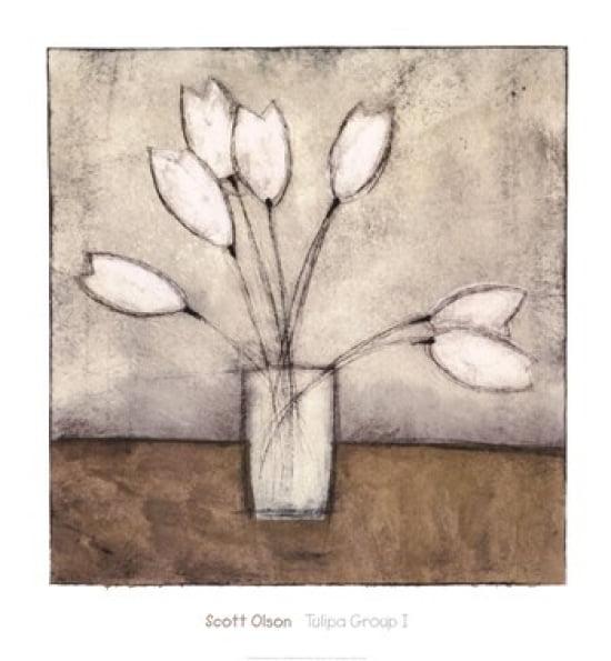 Tulipa Group I Poster Print by Charlene Winter Olson (26 x 28)