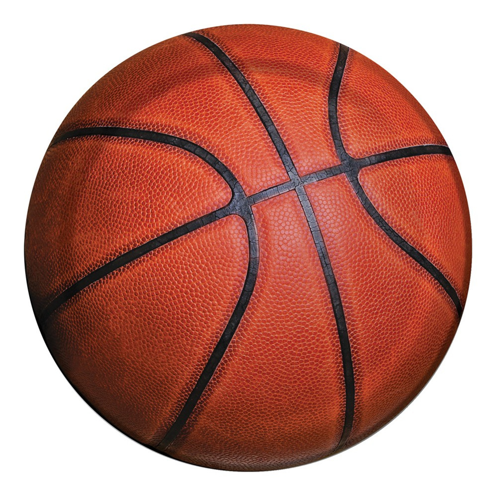 Sports Fanatic Basketball 7 inch Lunch Plates/Case of 96