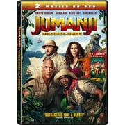 Jumanji Welcome To The Jungle + Jumanji (DVD) by