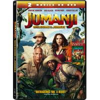Jumanji Welcome To The Jungle + Jumanji (DVD)