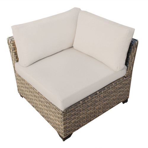 TK Classics Monterey Corner Sectional Chair with Cushions