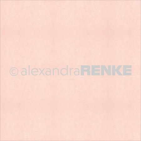 Alexandra Renke Wood Structure Single Sided Cardstock 12x12 Rose