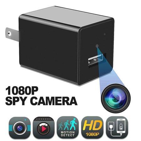 LIVEDITOR 1080P HD Mini Spy Security Hidden Camera Nanny Cam USB Wall  Charger Adapter Plug | Walmart Canada