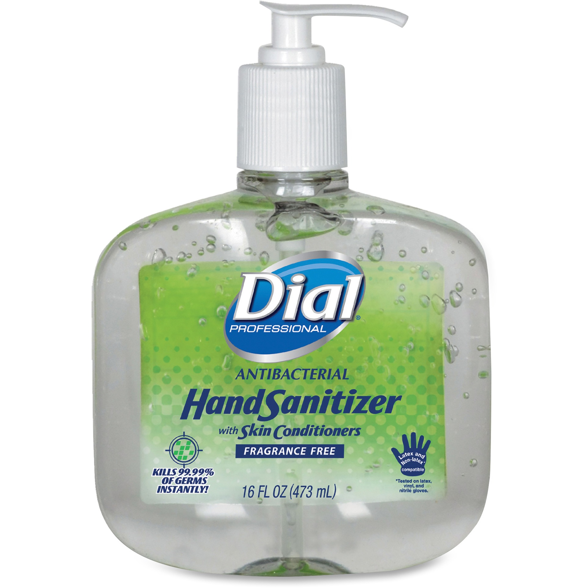 Dial Professional Antibacterial Hand Sanitizer, Clear, 8   Carton (Quantity) by The Dial Corporation