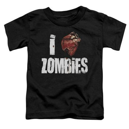 I Bloody Heart Zombies Little Boys Toddler Shirt](Little Boy Zombie)