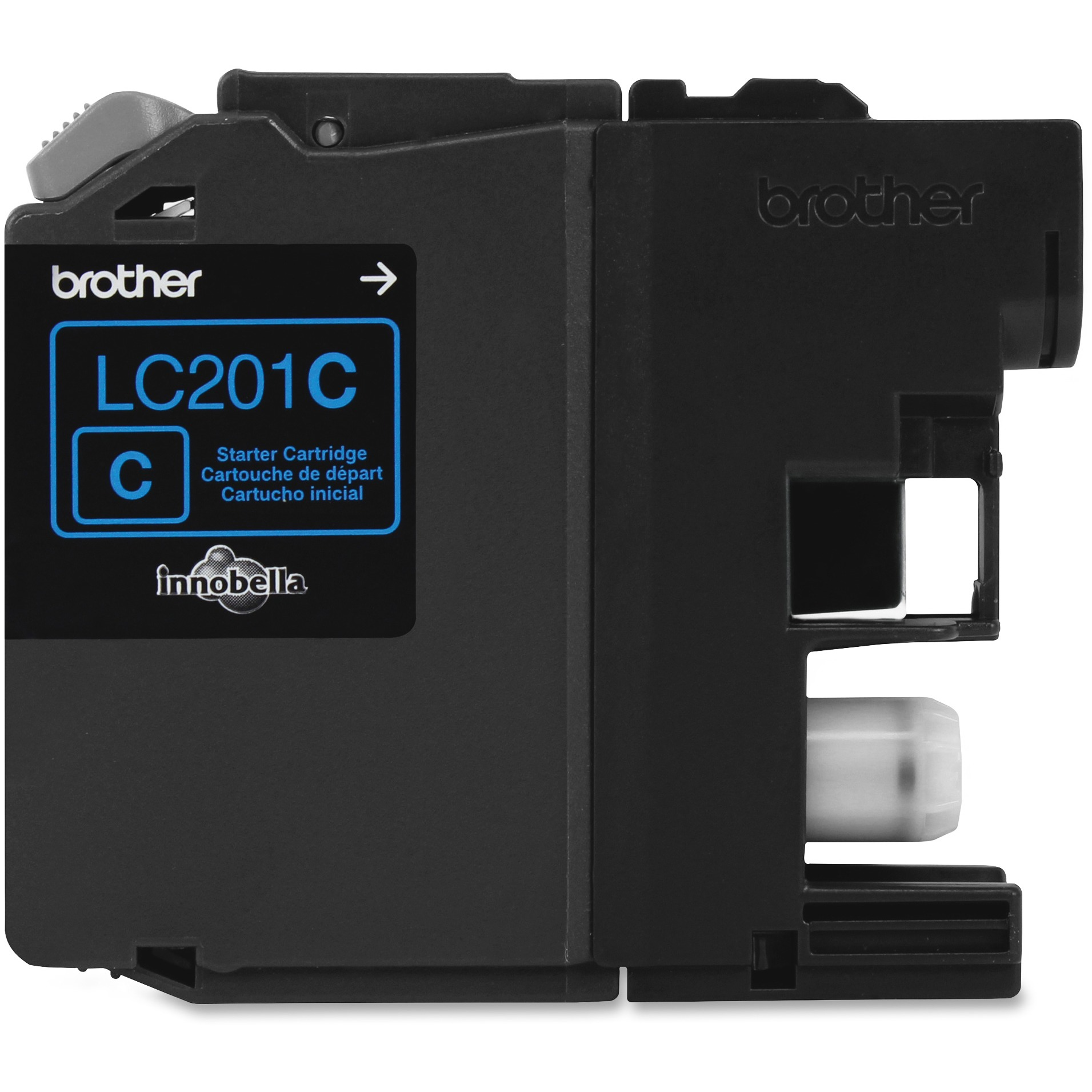 Brother LC201C Cyan Ink Cartridge (260 Yield) LC201C