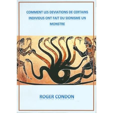 Comment Les Déviations de Certains Individus ont fait du Sionisme un Monstre - eBook](Les Monstres De Halloween)