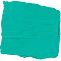 Bright Teal Surprise, Blue & Teal, Paint and Primer, Glidden High Endurance Plus Interior