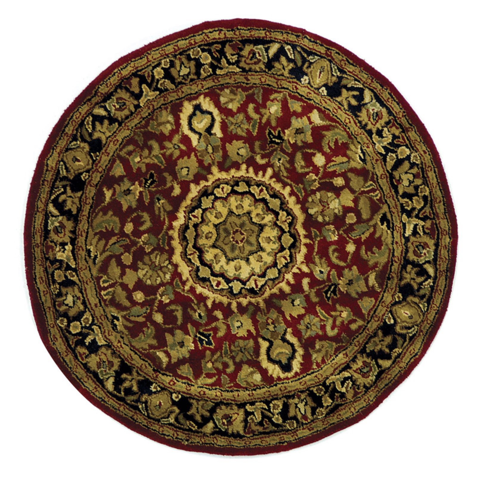 Safavieh Classic CL762B Area Rug - Red/Navy