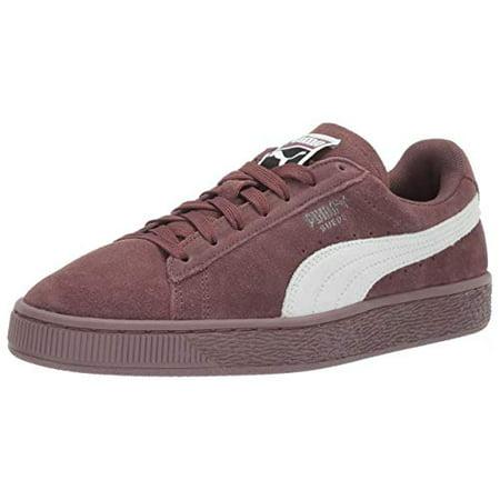 PUMA Women's Suede Classic WN's Sneaker, Peppercorn White, 9.5 M US