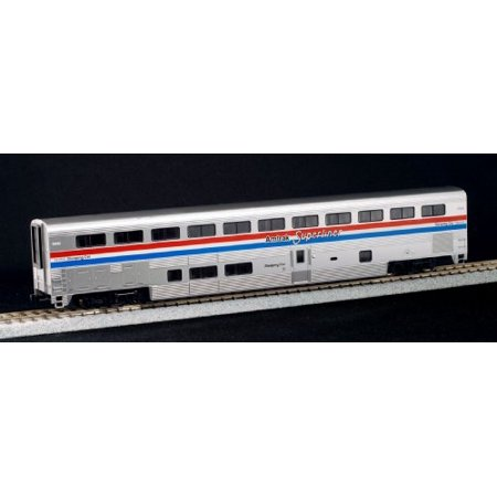 Kato Ho Scale Superliner Sleeper Car Amtrak Phase Iii   With Decal Sheets Ka 35 6082 Multi Colored