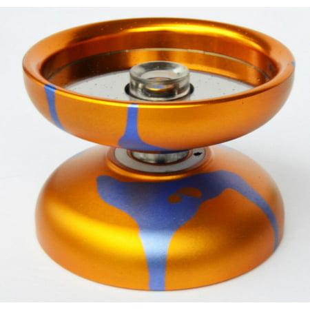 Acid Unresponsive Professional Trick Yo-Yo 2018 Annodized Aluminum Yellow