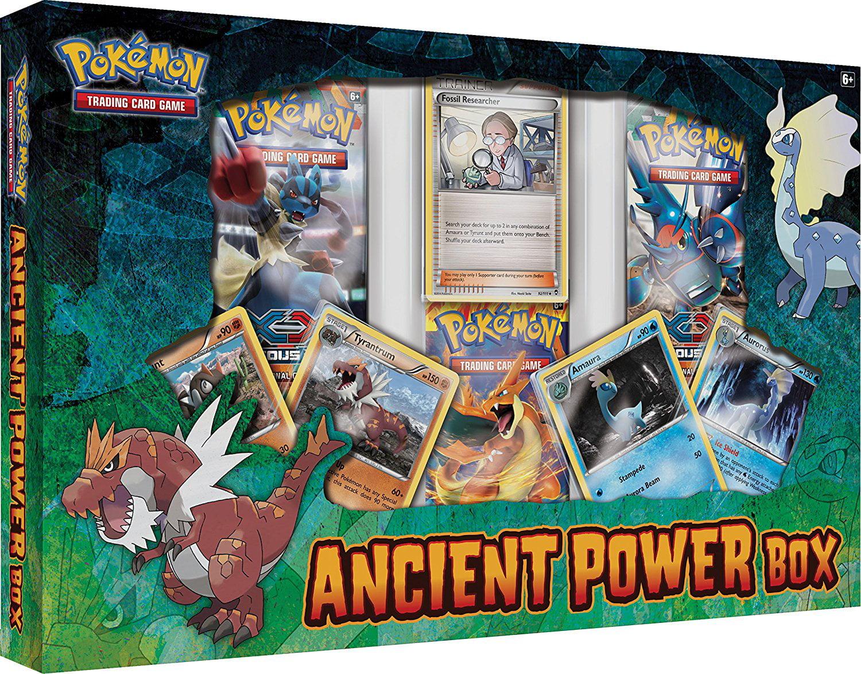 Pokemon Ancient Power Box