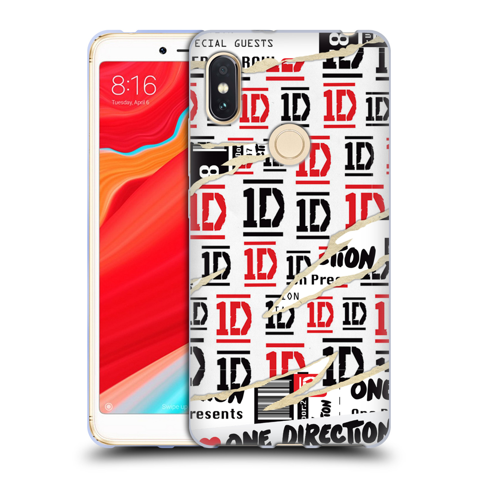 OFFICIAL ONE DIRECTION TICKET SOFT GEL CASE FOR XIAOMI PHONES