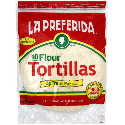 La Preferida Flour Tortillas, 10CT (Pack of 12)