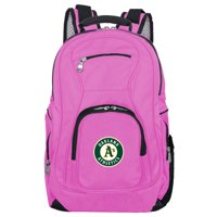 MLB Oakland Athletics Pink Premium Laptop Backpack