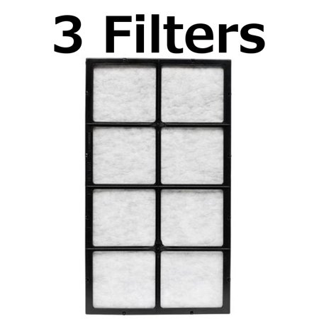 Stage Pre Filter - Aircare 1051 2 Stage Air Filter (3 Pack)