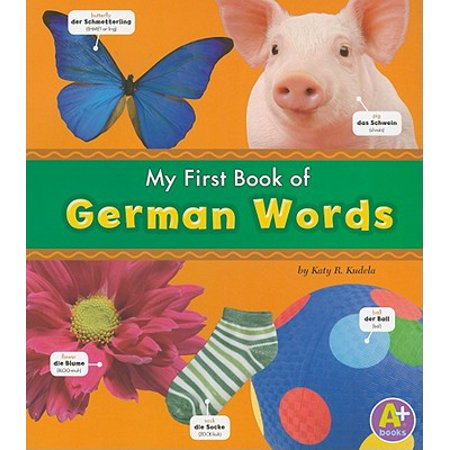 - My First Book of German Words