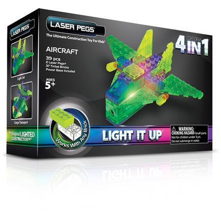 Laser Pegs MPS 4-in-1 Aircraft