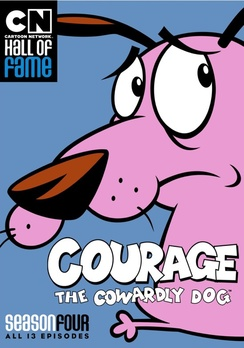 Cartoon Network Hall of Fame: Courage the Cowardly Dog Season 4 (DVD) by CARTOON NETWORK