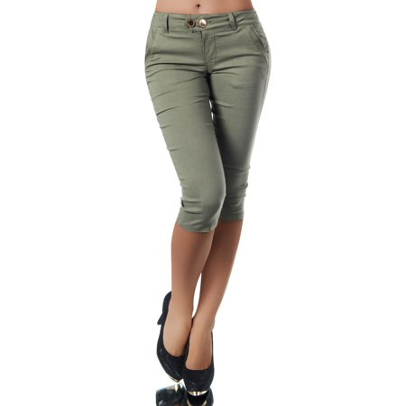 Short Capris Women Summer Cotton Pants