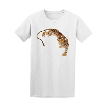 Abstract Watercolor Cheetah Tee Men's -Image by Shutterstock