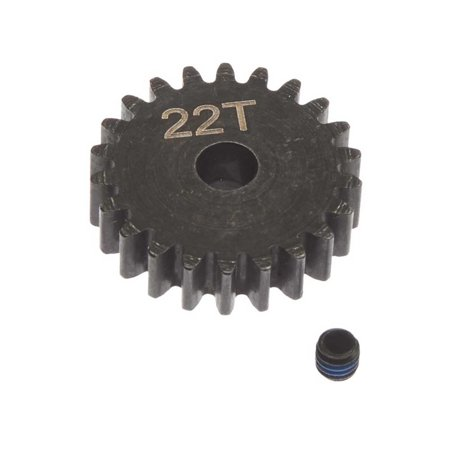 ARRMA Steel Pinion Gear 22T Mod1 5mm, ARAC7783 Hardened Steel Pinion Gear
