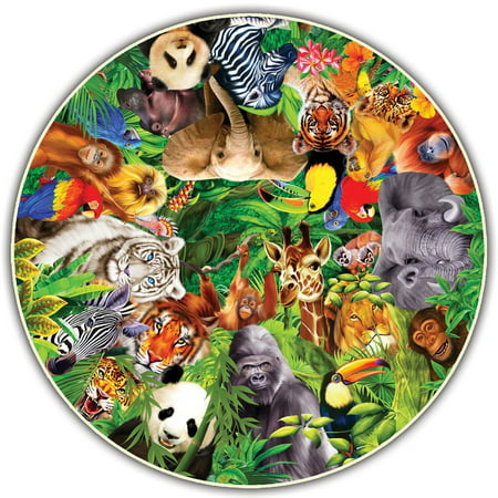 Round Table Puzzle - Creepy Critters (500 Piece), Ideal puzzles for groups of two or more: everyone gets the best seat around the puzzle. By A Broader